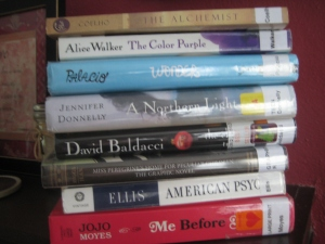 A second stack of books, selected in late May to get me through many of the remaining categories. Getting closer!
